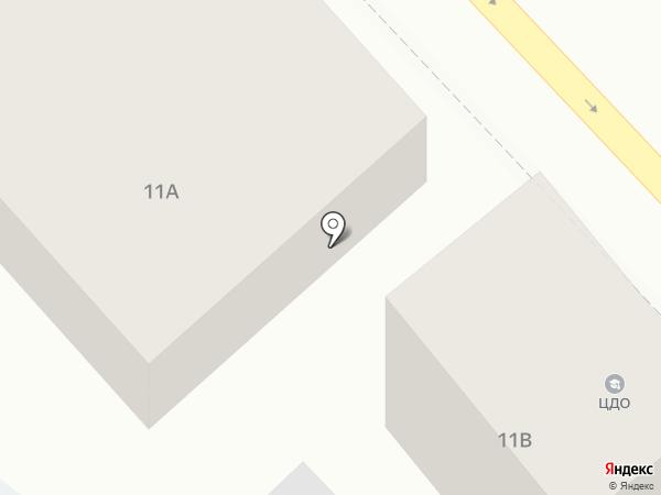 Продуктовый магазин в Гвардейском переулке на карте Ростова-на-Дону