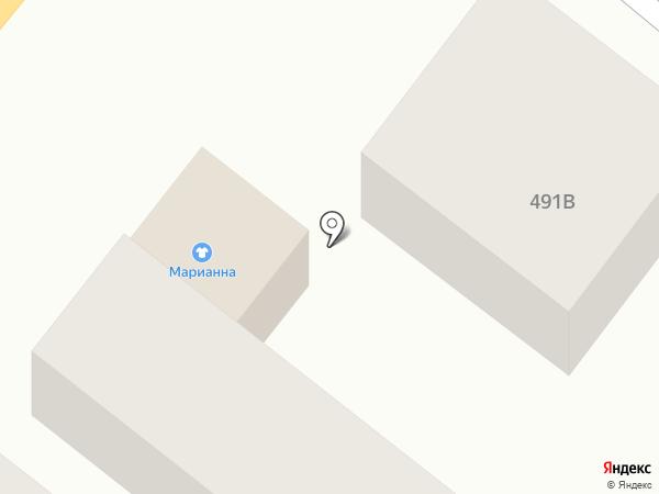 Марианна на карте Батайска