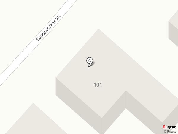 Библиотека им. А.С. Пушкина на карте Батайска