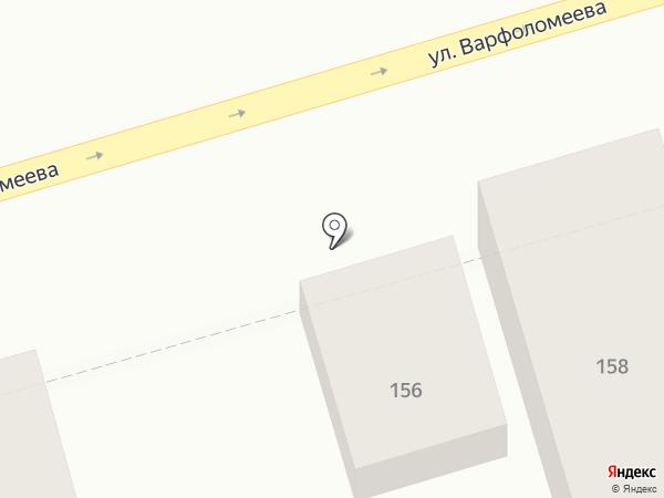 Эдемский сад на карте Ростова-на-Дону
