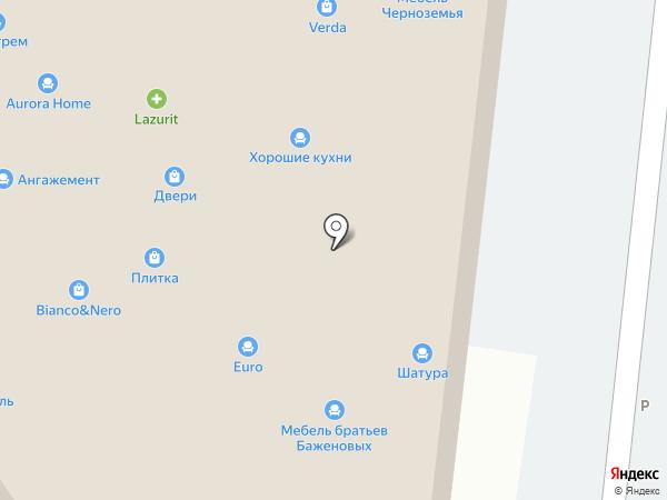 Сомово-Мебель на карте Ростова-на-Дону