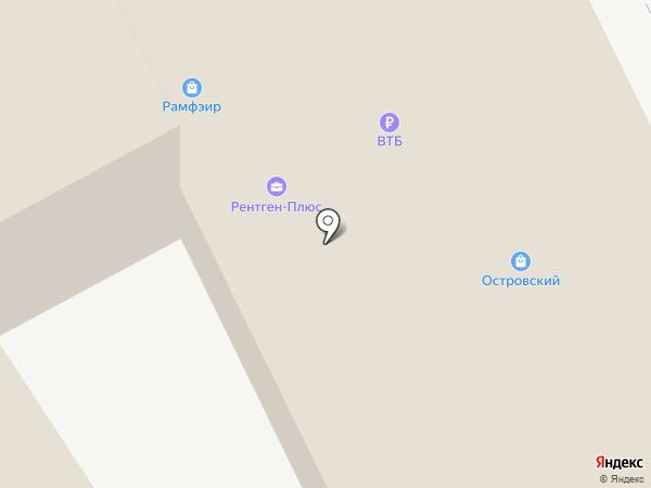 Вело-Остров на карте Рязани