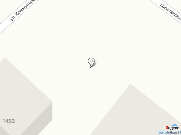 Батайское ГОРПО на карте Батайска