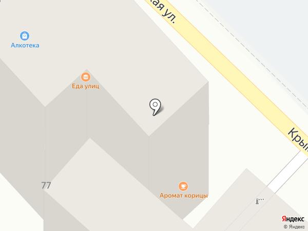 На Крымской на карте Сочи