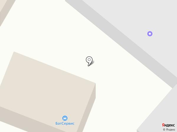 СкифАвто, ЗАО на карте Батайска