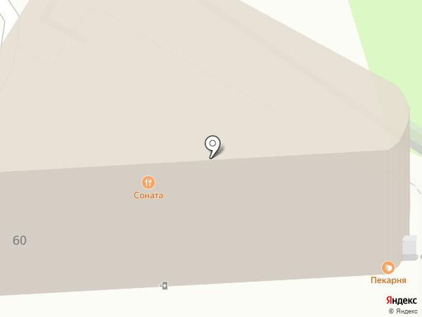 Соната на карте Сочи
