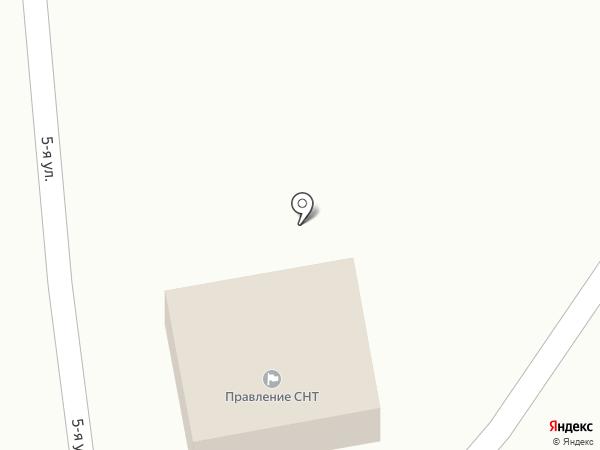 Речное на карте Липецка