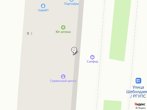 Smoke market на карте Ростова-на-Дону