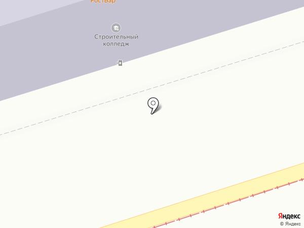 Ростовский-на-Дону строительный колледж на карте Ростова-на-Дону