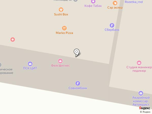 ЮЖНЫЙ УНИВЕРСИТЕТ (ИУБИП) на карте Ростова-на-Дону