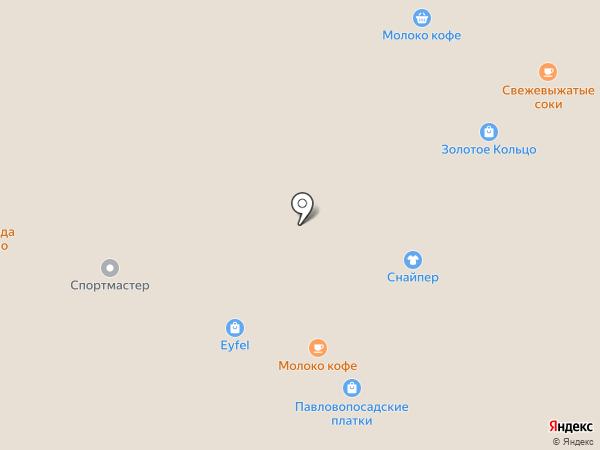 Барс на карте Рязани