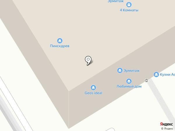 Мебеллион на карте Рязани