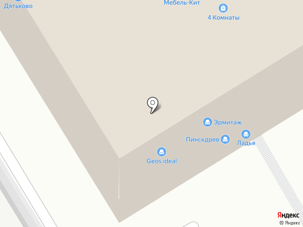 КЛМ-Мебель на карте Рязани