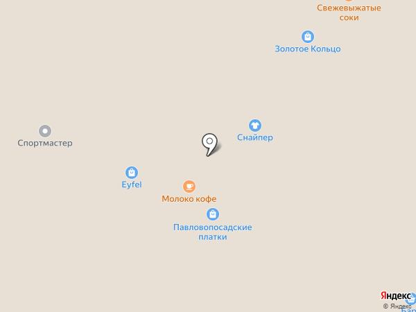 Магазин нижнего белья на карте Рязани