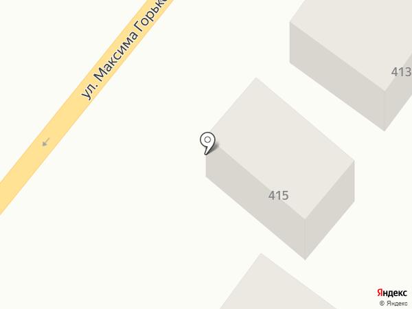 Почтовое отделение №8 на карте Батайска