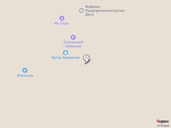 Павловопосадские платки на карте Рязани