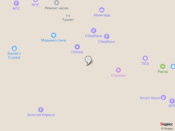Салон картин по номерам на карте Рязани