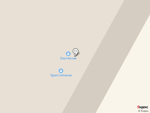Охот Актив на карте Рязани