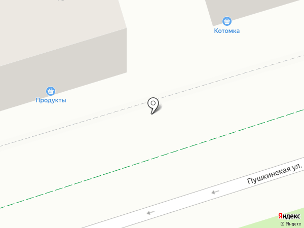 Пенная 1 на карте Ростова-на-Дону