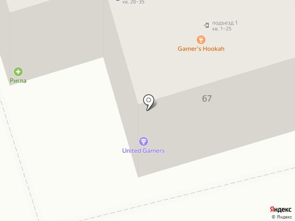 Акрополь на карте Ростова-на-Дону