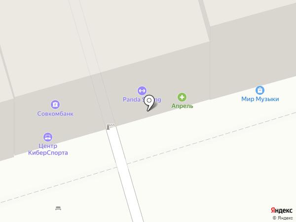 Мне и Маме на карте Ростова-на-Дону