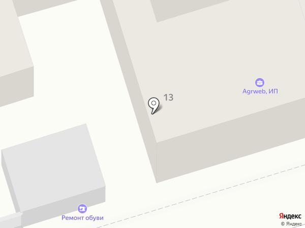 Парикмахерская на Московской на карте Ростова-на-Дону
