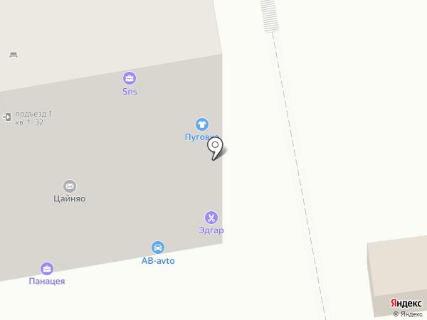 Точка света на карте Ростова-на-Дону