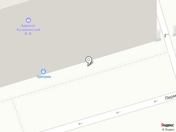 Мясной дворик на карте Ростова-на-Дону
