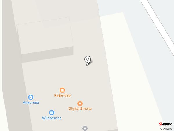 Кафе-бар на карте Ростова-на-Дону
