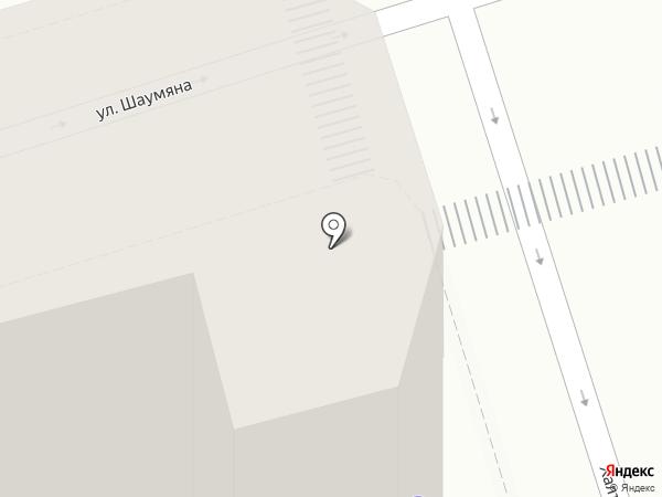 Копицентр на карте Ростова-на-Дону