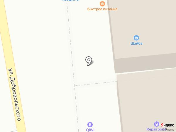 От Души на карте Ростова-на-Дону