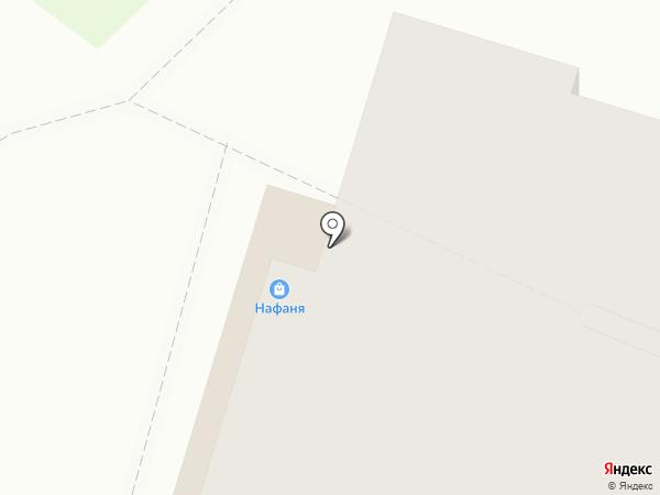 Нафаня на карте Рязани