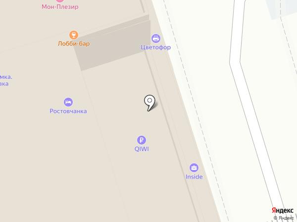 Mon Plaisir на карте Ростова-на-Дону