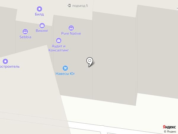 Билд на карте Ростова-на-Дону