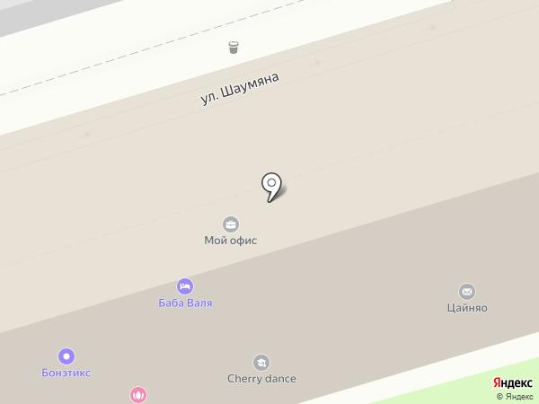 РОСТ на карте Ростова-на-Дону