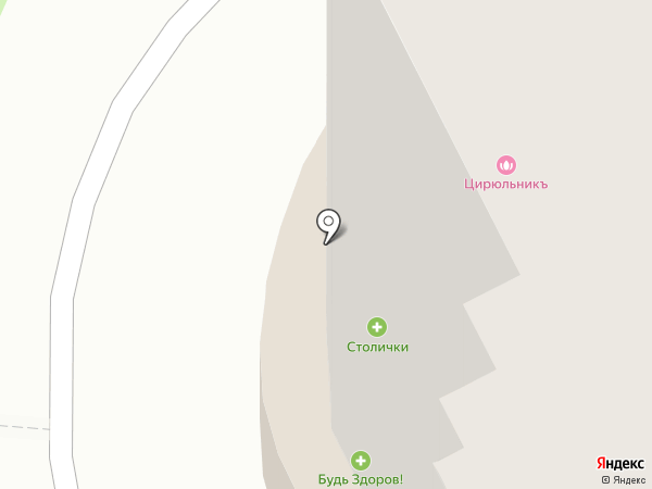 Очаково на карте Рязани