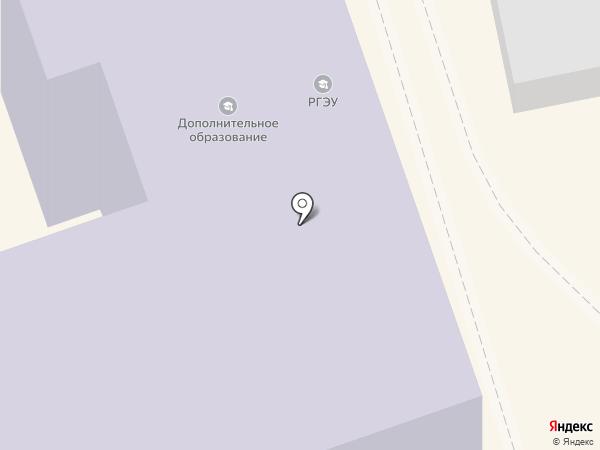 РГЭУ на карте Ростова-на-Дону