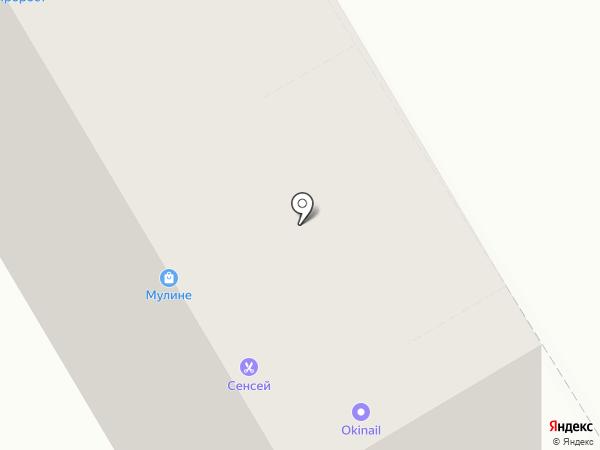 Подсолнух на карте Ростова-на-Дону