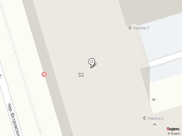 ГипроНИИгаз на карте Ростова-на-Дону