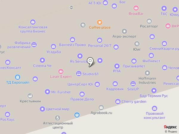 Эксперт-Система Юг на карте Ростова-на-Дону