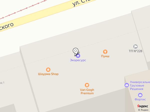 Арион на карте Ростова-на-Дону