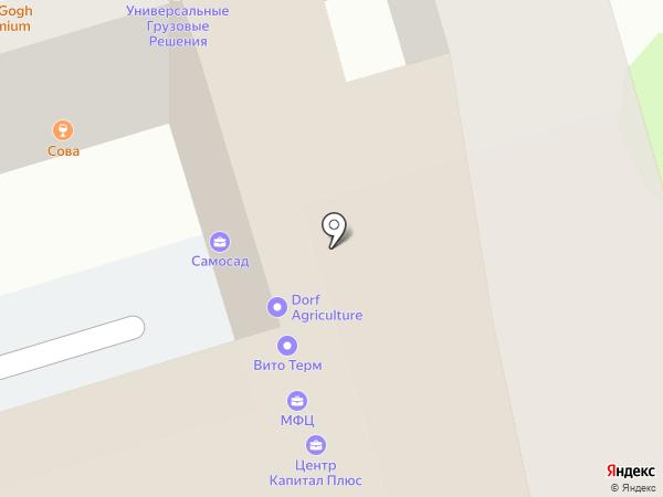 Школа йога Гуру Ар Сантэма на карте Ростова-на-Дону