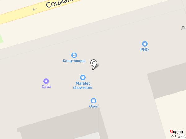 ПивМаркет на карте Ростова-на-Дону
