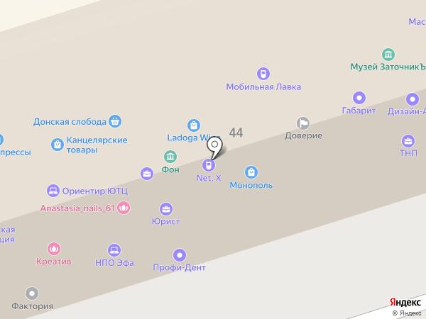ТНП-Недвижимость на карте Ростова-на-Дону