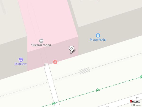 Парк Горького на карте Ростова-на-Дону