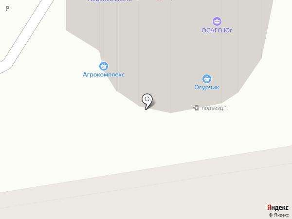 Царь-продукт на карте Ростова-на-Дону