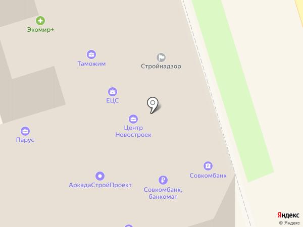 Семена Дона на карте Ростова-на-Дону
