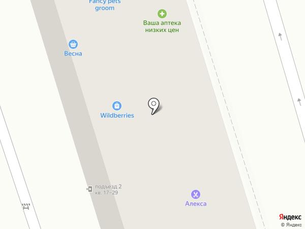 КОМПИКА на карте Ростова-на-Дону