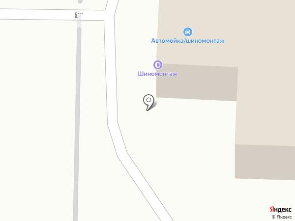 Автомойка на карте Рязани