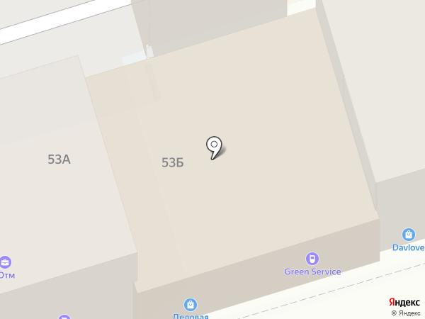 Чайный магазин на карте Ростова-на-Дону